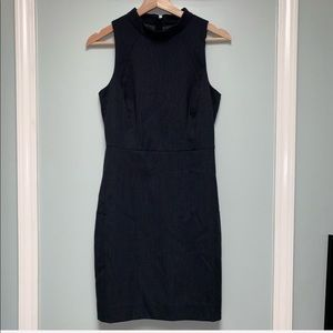 J. Crew back zipper dress